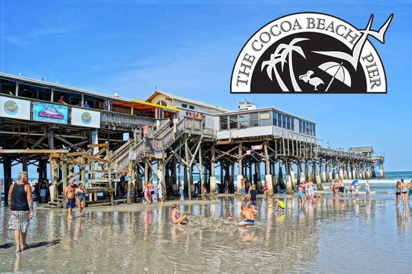 Cocoa Beach Hotels Map