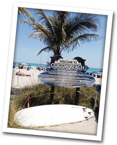 Welcome to Cocoa Beach!